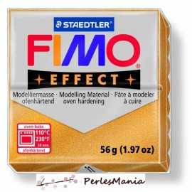 1 pain 56g pate polymère FIMO EFFECT OR METALLISE 8020-11
