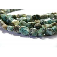 10 nuggets Turquoise Africaine 8mm