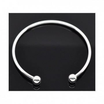 Bracelets Jonc Avec Perles à Vis