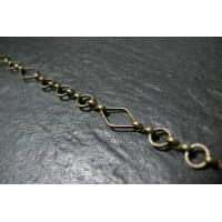 50 cm très belle maille chaine Bronze ref 3055