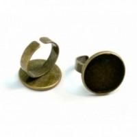 BN1127976 PAX 5 supports de bague Qualité Supérieure Laiton couleur Bronze 18mm