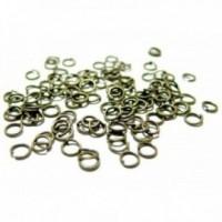 PAX 1000 Anneaux métal couleur Bronze 6 par 0,8mm ref 2M3102