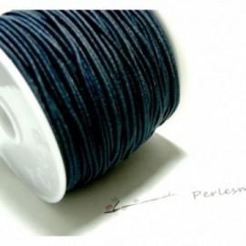 10 mètres élastique fil tressé 1mm noir
