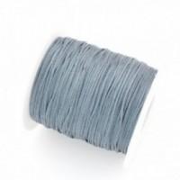 160808140632 PAX 1 rouleau de 73 mètres fil Nylon Tressé 1mm Gris NO 6
