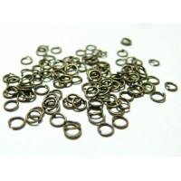 1000 anneaux de jonction 5 mm par 1 mm bronze
