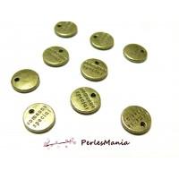 Apprêts breloques: 50 pendentifs Someone Special BRONZE OB2817