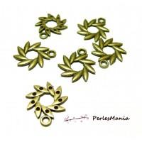 50 pendentifs soleil fleur Bronze ref285 breloques pour création de bijoux